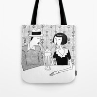 They Shared A Chocolate … Tote Bag