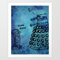 Dalek's First Emotion Art Print