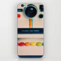 Over The Pola Rainbow iPhone & iPod Skin