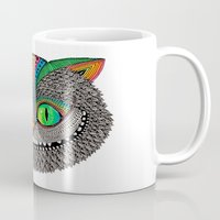 Alice´s cheshire cat by Luna Portnoi Mug