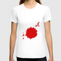japan T-shirts featuring japan by Sophie Rousseau