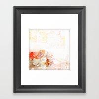 Abstract Textural Framed Art Print