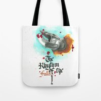 The rhythm of the falls Tote Bag
