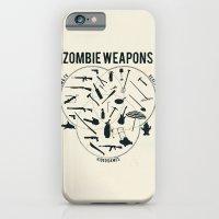 Zombie Weapons iPhone 6 Slim Case
