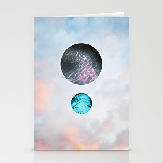 Shimmer Stationery Card