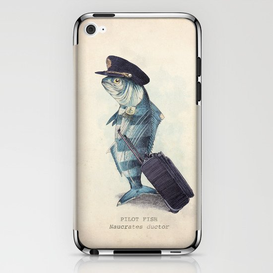 The Pilot iPhone & iPod Skin