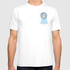 INTERNET PERSON White SMALL Mens Fitted Tee