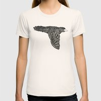 Escaped Bird Womens Fitted Tee Natural SMALL
