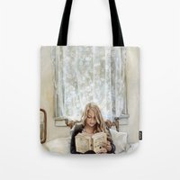 Morning Read Tote Bag