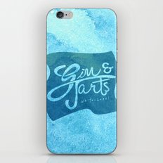 Gin & Tarts iPhone & iPod Skin