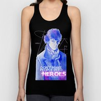 Consulting Detective Unisex Tank Top