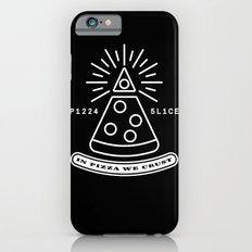 Dollar Slice BLACK iPhone 6 Slim Case