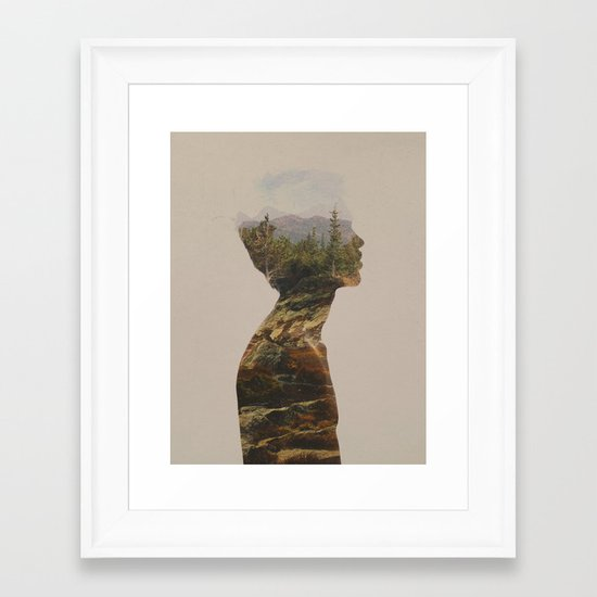 Side by Side Framed Art Print