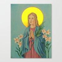 Saint Maria Canvas Print