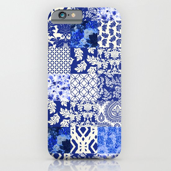 Blue Is Just A Mood iPhone & iPod Case