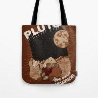 Pluto The Dwarf Planet Tote Bag