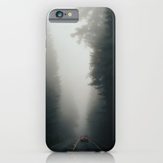 Dark Forest Driving iPhone & iPod Case