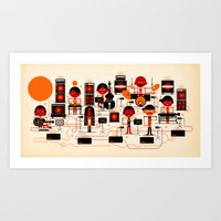 ONJO Live At Luchtbal Art Print