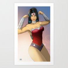 Diana! Art Print