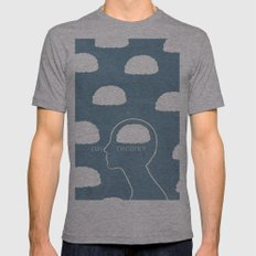 daydreamer Mens Fitted Tee Athletic Grey SMALL