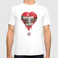 A Broken Heart Is Blind … Mens Fitted Tee White SMALL