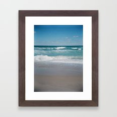 Southern Shores Framed Art Print