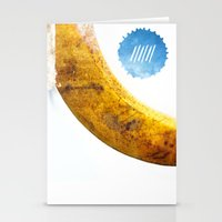Le Cri De La Banane Stationery Cards