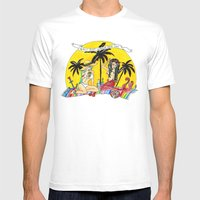 Girls Just Wanna Have Su… Mens Fitted Tee White SMALL