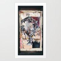 Trumpet song Art Print