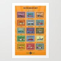 Motor Style Inc.: Motors… Art Print