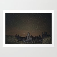 Kell Watch The Stars Art Print