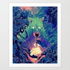I Am Dog Art Print