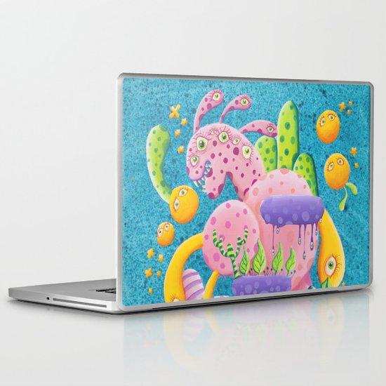Psychadelic Pink Laptop & iPad Skin
