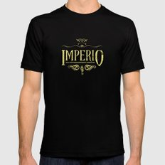 Harry Potter Curses: Imperio Mens Fitted Tee Black SMALL