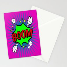 Boom Pink Boom Stationery Cards