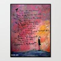 Beautiful Melancholy Canvas Print