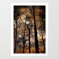 Sheltering Sky Art Print