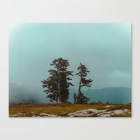 Pacific Northwest Lake Canvas Print