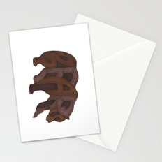 Bears Typography Stationery Cards