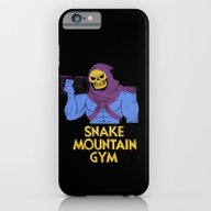 Snake Mountain Gym iPhone 6 Slim Case