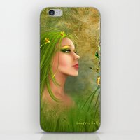 Forrest Angel iPhone & iPod Skin