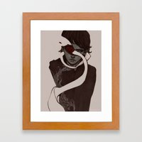 jammed Framed Art Print
