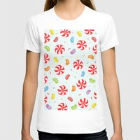 candy T-shirts featuring Candy by Alice Brown