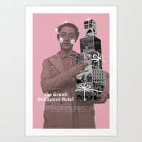 The Grand Budapest Hotel… Art Print