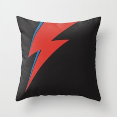 Bowie Ray Throw Pillow