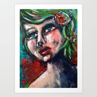 Without Hesitation Art Print