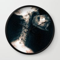 Pain in the Neck Wall Clock