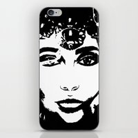 Queen Of Hearts - By Ash… iPhone & iPod Skin