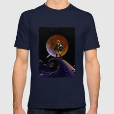 Nightmare Halloween Zeld… Mens Fitted Tee Navy SMALL