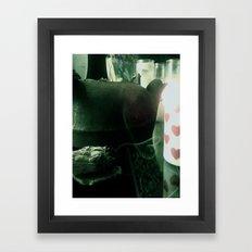 Sage Heart Framed Art Print